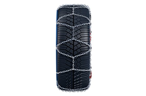 Konig 9mm CG9 Premium Passenger Car Snow Chain, Size 103 (Sold in pairs)