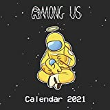 Among us Calendar 2021: 2021 Game Of The year Among Us calendar