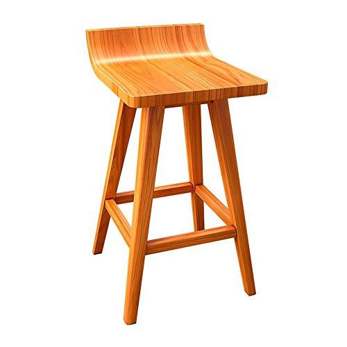 Zaixii barkruk van massief hout, barkruk, creatieve recepten van Bar, barkruk, hoge persoonlijkheid, keuze uit 3 kleuren, maat: 43 x 41