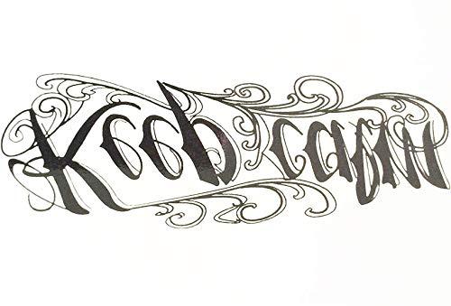 """Schrift Tattoo Arm Tattoo Oberarm Tattoo\""""Keep Calm\"""" HB064"""