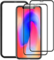 全面保護 ガラスフィルム iPhone 11 / XR用【ガイド枠付き】強化ガラス 保護フィルム 2枚セット