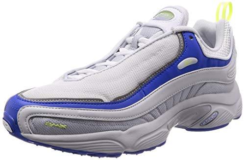Reebok Daytona DMX, Zapatillas de Deporte para Hombre, Multicolor (Spirit White/White/Cloud Gry/Vital Blue/000), 44 EU