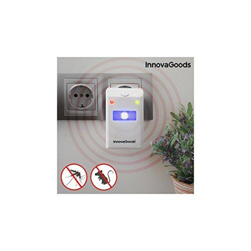 InnovaGoods IG114864 Ahuyentador de Insectos y Roedores