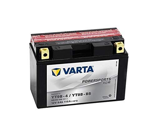 Batterie VARTA Powersports AGM YT9B-BS / YT9B-4 für YAMAHA YFM 700 Raptor 700ccm 06-11 [ inkl.7.50 EUR Batteriepfand ]