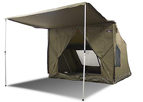 Oztent 30 Second Expedition 5-6 Person Tent (50 Lb) 8.6 ft(W) x 8.6 ft(D) x 6.6 ft(H) + 6.6 ft(Awning)
