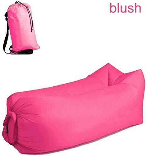 WWJL Bolsa de Frijoles Salón Cama para Acampar, la Bolsa de Aire Plegado rápido sofá Cama Impermeable sueño Perezoso Inflable para Acampar, Actividades al Aire Libre