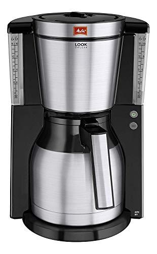Melitta 1011-14 Look IV Therm Deluxe Filter-Kaffeemaschine, schwarz