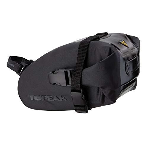 Topeak Satteltasche Wedge DryBag Strap Mount, Black, Medium (18.5 x 11.5 x 11 cm, 1l)