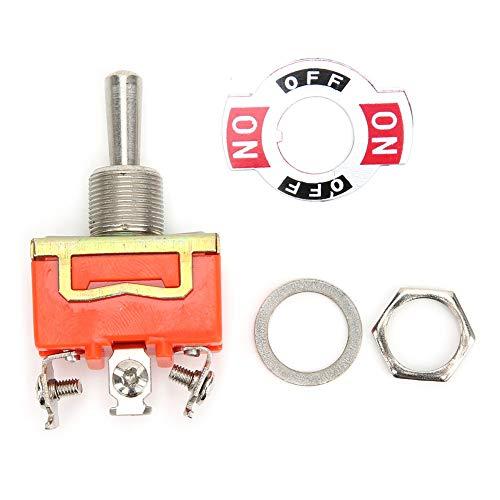 10PCS Mini interruptor de palanca AC 250V 15A ON-OFF-ON Interruptor de palanca de 3 pines de 3 posiciones Mini interruptor