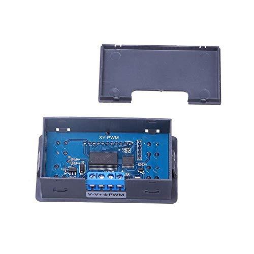 MOZUSA Generador de señales PWM Pulso Ciclo de frecuencia Módulo Ajustable con Pantalla LCD y la Caja 1 Hz-150 kHz 3.3V-30V Accesorios