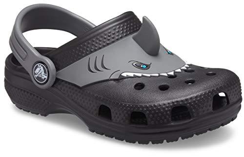 Crocs Fun Lab Classic I AM Shark Clog, Zoccoli Unisex-Bambini, 24 EU