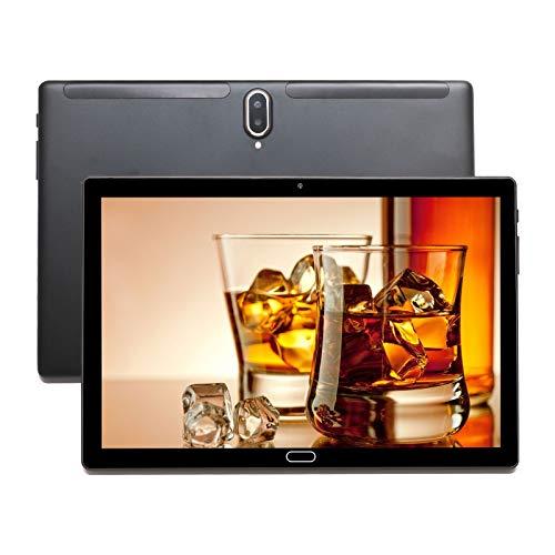 UCSUOKU N10 Tablet Deca-Core de 10 Pulgadas, Android 10.0 Pie, 4GB RAM, 64GB ROM, Pantalla IPS HD, Bluetooth 5.0, Cámara Trasera de 8MP, WiFi, USB C, GPS, Cuerpo de Metal (Negro)