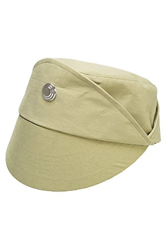 Helymore Unisexo Disfraz de Cosplay de Pelicula Uniforme Gorra Sombrero de Oficial de Policia Negro/Verde Circunferencia de la Cabeza Adecuada 58cm-62 cm (Talla General, Verde)