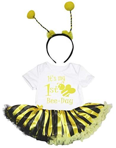 Petitebelle - Robe - Manches courtes - Bébé (fille) 0 à 24 mois Jaune jaune - Jaune - M