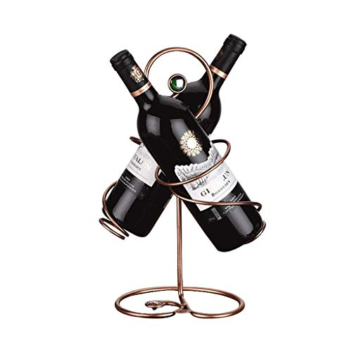 47-B Estante de vino de estilo europeo creativo estante de vino estante colgante vajillas de moda pie titulares de la taza