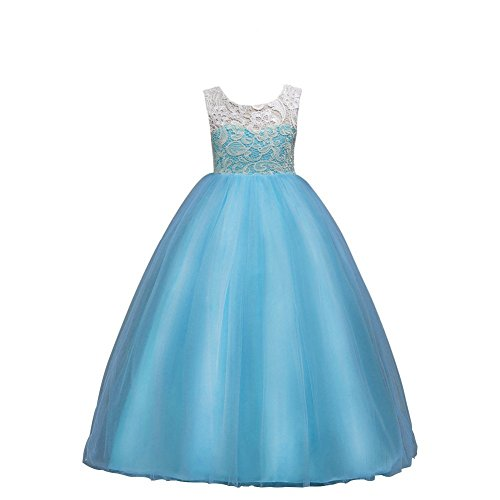 Wulide kinderen meisjes prinses jurk avondjurk met