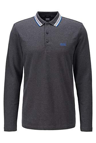 BOSS Herren Plisy Regular-Fit Poloshirt aus Baumwoll-Piqué