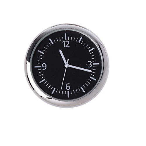 xiaoxioaguo GM reloj adhesivo electrónico reloj instrumento luminoso decoración BlackNoctilucence