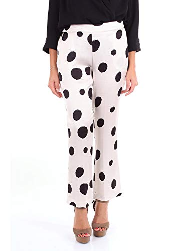 MANILA GRACE Pantalone Maxi Pois
