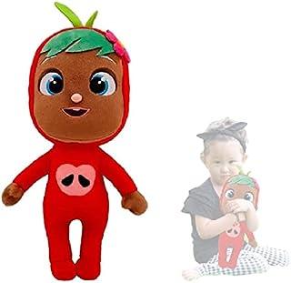 Hengyuan Poupées en Peluche pleurant des Fruits Super Soft Cute Plush Dolls Anniversary Xmas Gift for Kids (Apple)