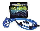 Taylor Cable 64628 Blue 8mm High Energy Spark Plug Custom Wire...