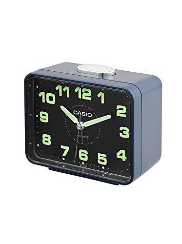 CASIO 10234 TQ-218-2D - Reloj Despertador analógico Azul