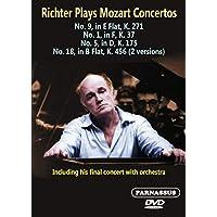 Richter Plays Mozart Konzerte [Francia] [DVD]