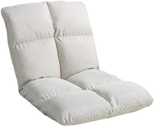 Mr.T Faul Sofa Bodensitzeinzel faules Sofa Klappbett Rückenlehne Stuhl Stock Balkon, Sofa, Stuhl Boden Sofa (Farbe: 5#, Größe: 105 * 54cm), Größe: 90 * 40cm, Farbe: 3# Meditation Sofa