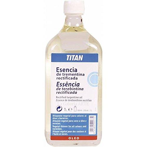 Esencia De Trementina 1 litro Titan