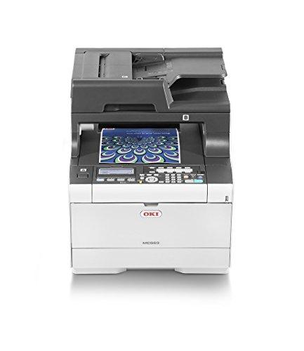 Stampante Multifunzione OKI MC563dn a Tecnologia LED, 4 in 1, a Colori, A4, Fronte/Retro, 30 Pagine al Minuto