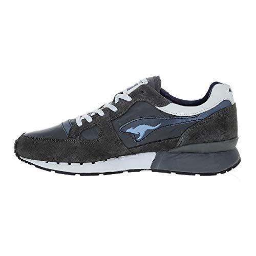 KangaROOS Herren Sneaker Low Red Coil-R1-Lea-Combo