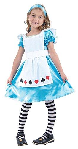 P'tit Clown - 98123 - Costume Enfant Alice - 10/12 Ans