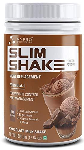 Mypro Sport Nutrition Mypro Nutrition Slim Shake Protein Powder 500 Gm- (Chocolate Flavor)