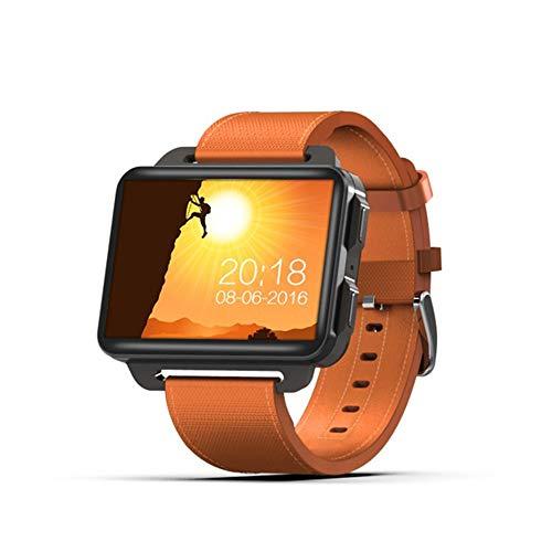Update der DM98 3G-Netz Smartwatch Android 5.1 OS 1 GB RAM 16 GB ROM 2,2 Zoll IPS-Schirm Errichtet im GPS-WiFi BT4.0,Orange