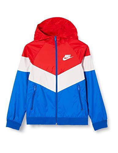 Nike Sportswear Windrunner Veste pour enfant M Rouge/blanc (university red/Summit white/Summit white)