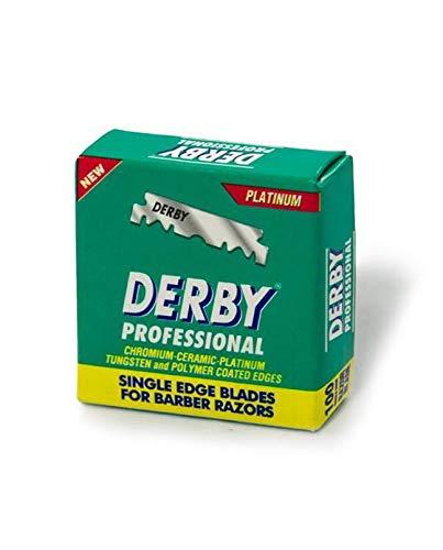 Derby - Cuchillas profesionales para afeitado, 16 cajas (16x100)