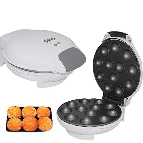 FXXJ Hace postres Variados, Mini Brownies, Mini donas y Mini Pasteles, Conjunto de máquina Cake Pop Maker, Control automático de Temperatura