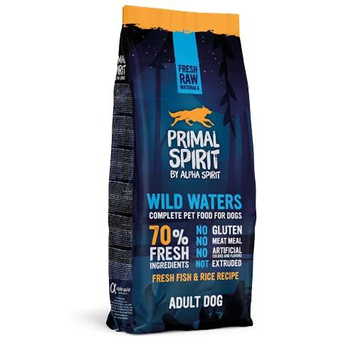 Primal Spirit8436586310820 70% Wild Waters Adulto Perros Comida 12 kg