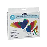 Rite Lite Design Your Own Candles Kit - Beeswax Hanukkah D-I-Y Candles Kit, Create Your Hanukkah Menorah Candles