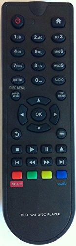 Smartby New Blu-Ray DVD Remote BDP2900 for Philips BDP2900 BDP3280 BDP3100 BDP3080 BDP2700 Netflix Vudo
