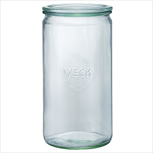 ドイツ/ WECK ウェック|ストレートシェイプ1550ml WE-974 / 保存容器・ガラスキャニスター・キッチン用品・キッチン雑貨
