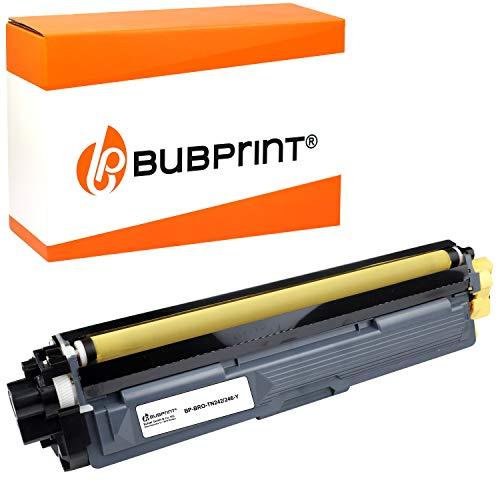 Bubprint Kompatibel Toner als Ersatz für Brother TN-242Y TN-246Y für DCP-9017CDW DCP-9022CDW HL-3142CW HL-3152CDW HL-3172CDW MFC-9142CDN MFC-9332CDW MFC-9342CDW Gelb