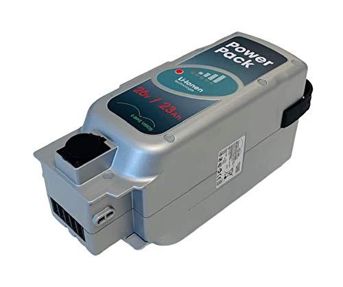 WSB Battery 26 Volt 23000mAh E-Bike Vision Akku passend für NKY226B02 NKY231B02 NKY246B02 NKY224B02, NKY314B2, NKY335B2 Panasonic 25,2V für viele Kalkhoff, Flyer, Raleigh, Kettler, usw.