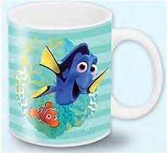 Taza de cerámica con diseño de Buscando a Nemo y Dory Disney