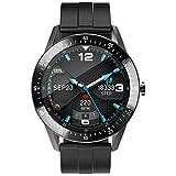 Reloj Inteligente Hombres Smartwatch con 24 Modos Deportivos Pulsómetro Calorías Monitor de Sueño Actividad Podómetro IP67 Impermeable Reloj Compatible con Android iOS (Negro)