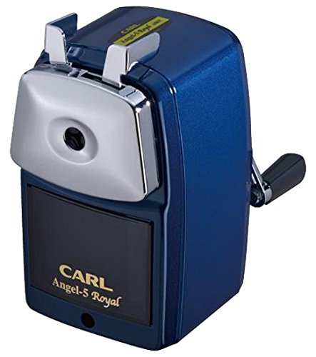Carl Angel-5 Royal Pencil Sharpener, Blue