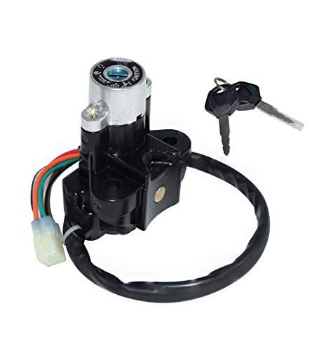 JFYCUICAN Motorrad Fuß Motorrad-Zündschalter für Suzuki GSXR600 600 GSXR750 750 1000 2004-2015 Switch Lock Assembly Lock