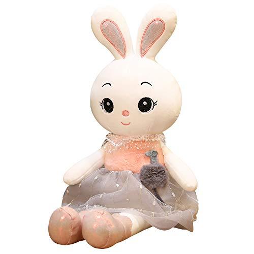 ODEUXS muñeca linda transfronteriza muñeca conejo de peluche de juguete lindo conejo niña muñeca almohada regalo de vacaciones