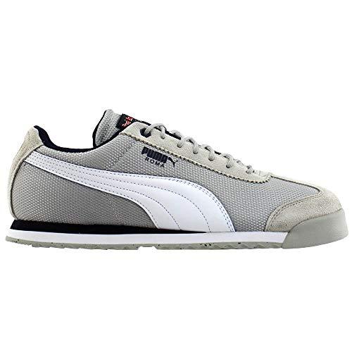 PUMA Mens Red Bull Racing Roma Casual Sneakers, Grey, 14