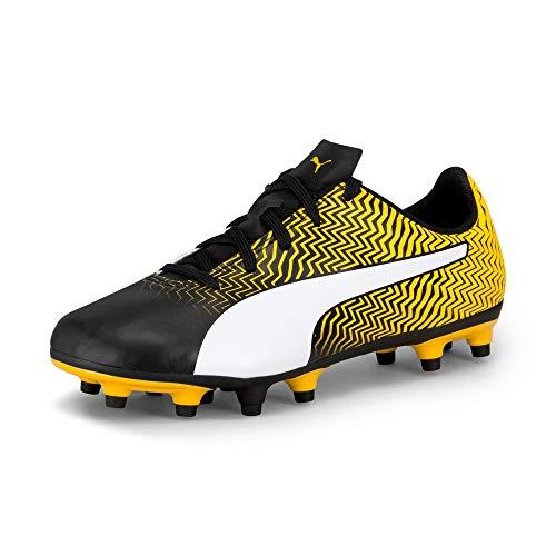PUMA Kids Unisex Rapido Football Boots 10 UK Child Yellow